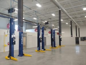 Picture of Auto Service Aids New Service Bay Installation